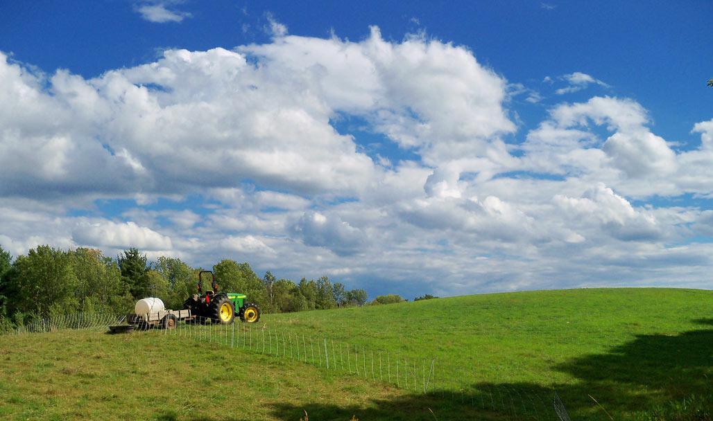Farmer in Vermont