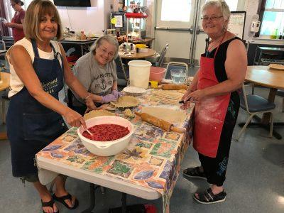 Fair Day Making Pies