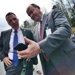 Vermont Governor Phil Scott &Grace Cottage CEO Doug DiVello