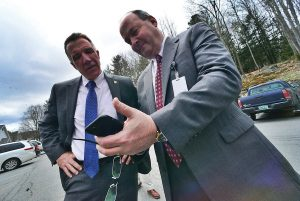 Vermont Governor Phil Scott &Grace Cottage CEO Doug DiVello