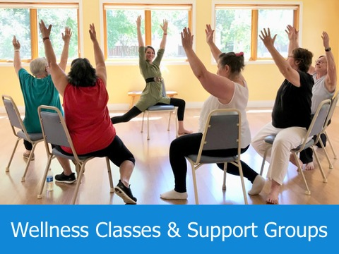 Grace Cottage Wellness Classes and Support Groups