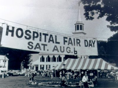 Historic Fair Day Sign
