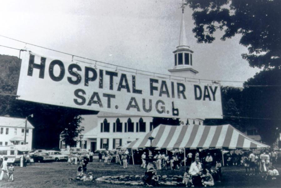 Historic Fair Day Sign