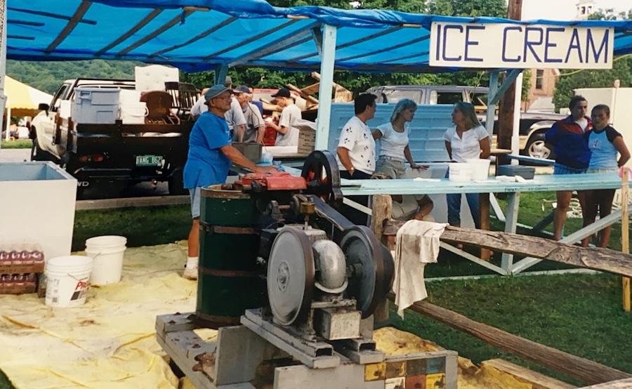 Ice Cream at Fair