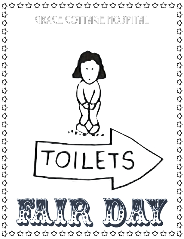 Toilets Coloring Page