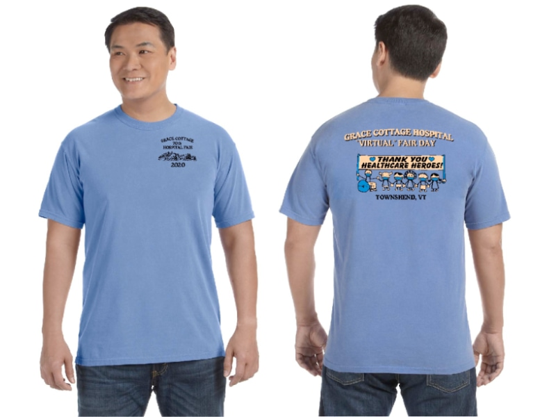 Grace Cottage Hospital t-shirt
