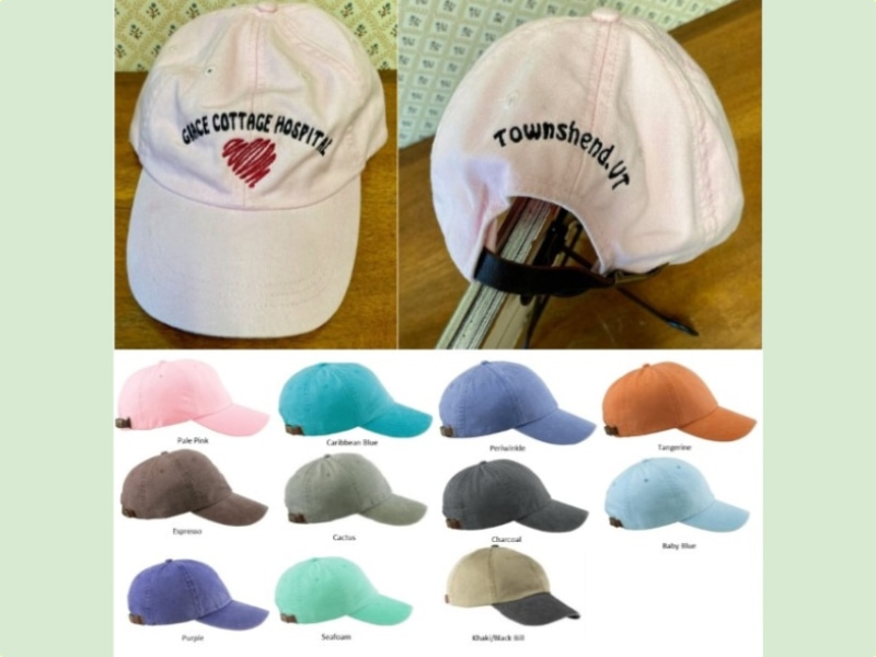Hats with Swatches