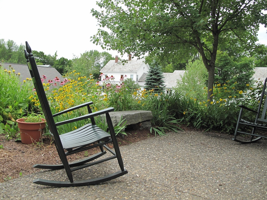 Hospice Garden Rocking Chair 2013 by Diane B