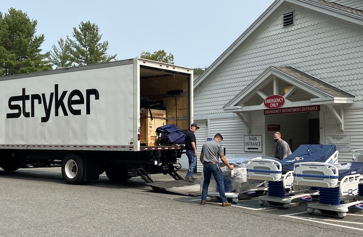 New Stryker Beds Arrive