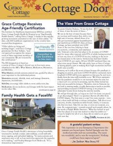Cottage Door Fall 2021